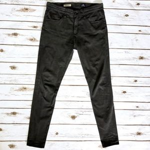 Ag Adriano Goldschmied Pants - AG Adriano Goldschmied The Farrah Modal Grey Pants